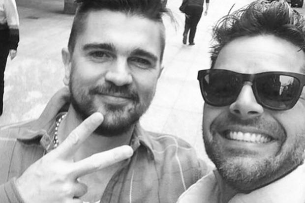 Juanes y Ricky Martin