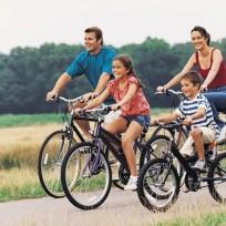 montar en bici con niños