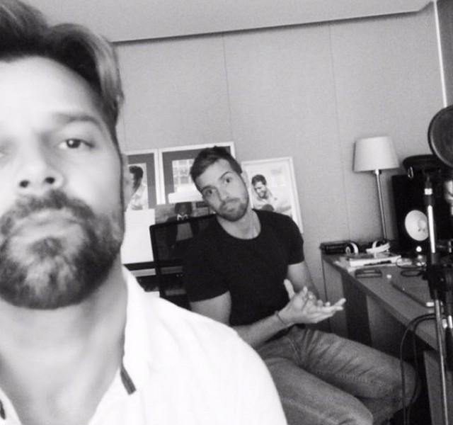 Ricky Martin y Alborán