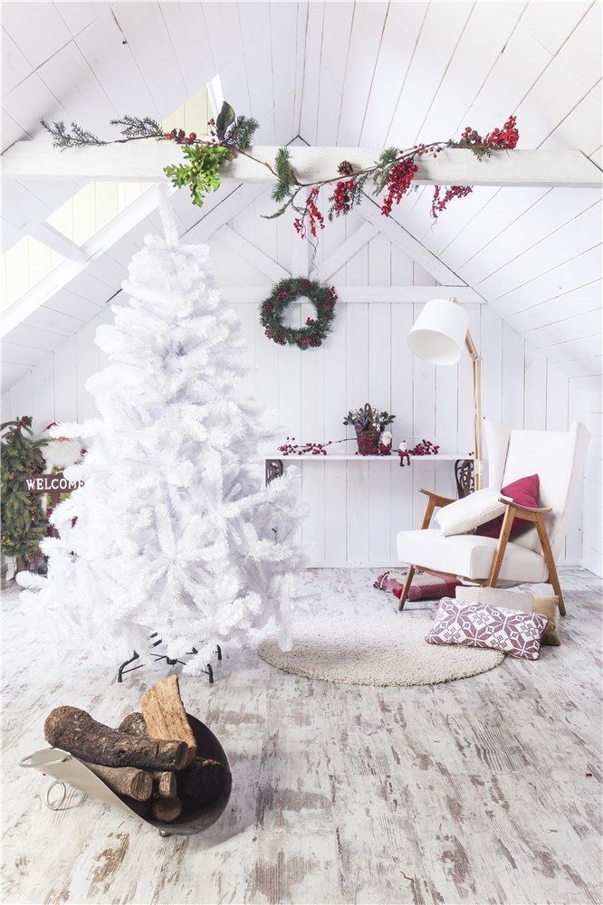 El rbol de navidad y sus diferentes estilos cadena dial - Arbol navidad blanco ...
