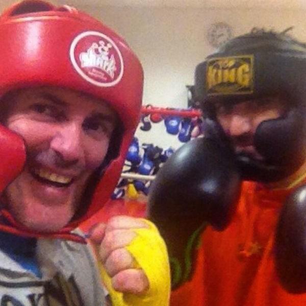 Antonio Orozco boxeo