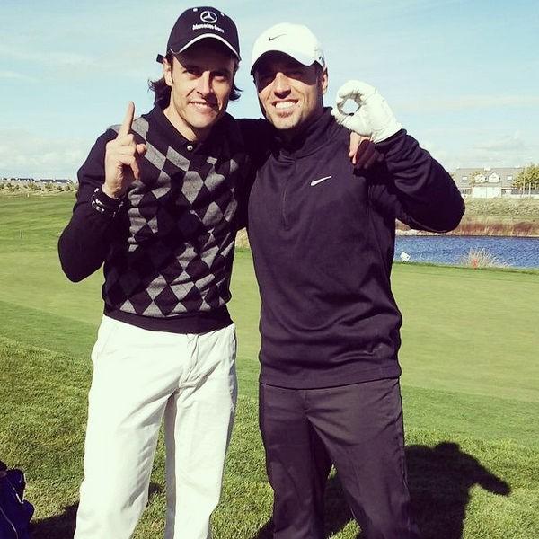 David Bustamante golf