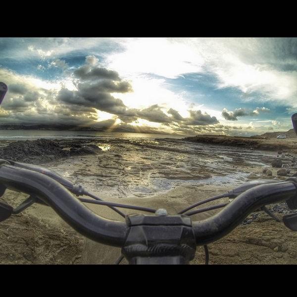 Efecto pasillo bici