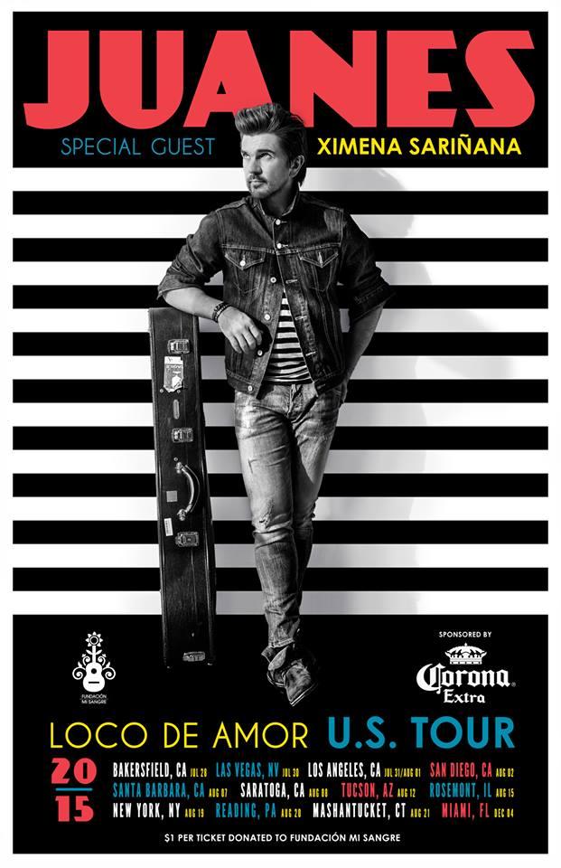 Juanes gira EEUU