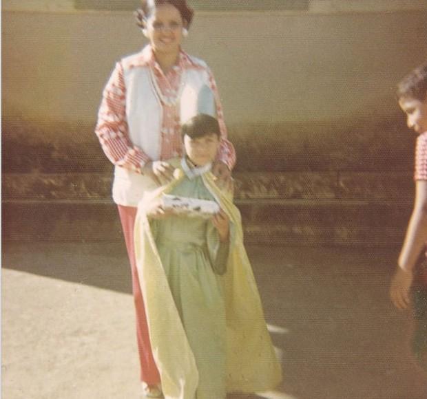 Chayanne y su madre