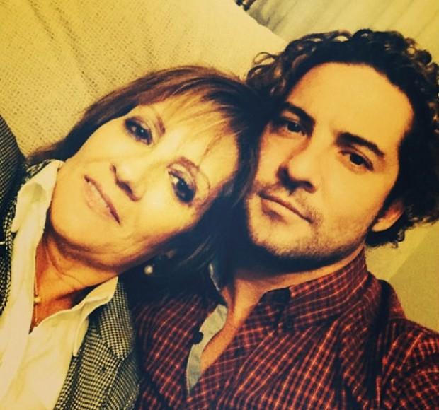 David Bisbal y su madre