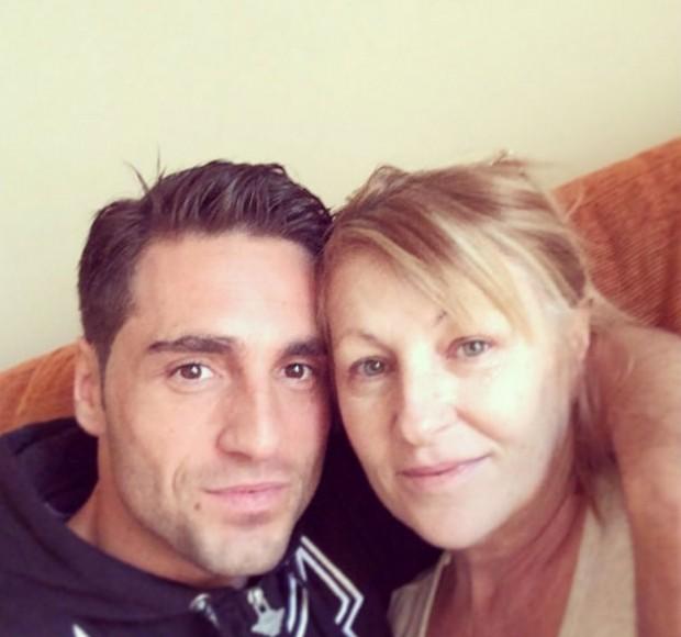 David Bustamante y su madre