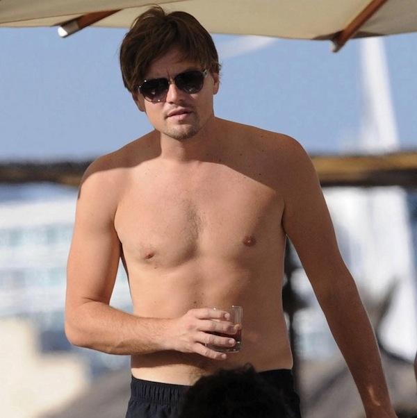 Leonardo-DiCaprio-body-shirtless