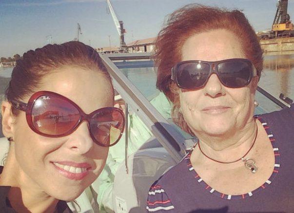 Pastora Soler y su madre