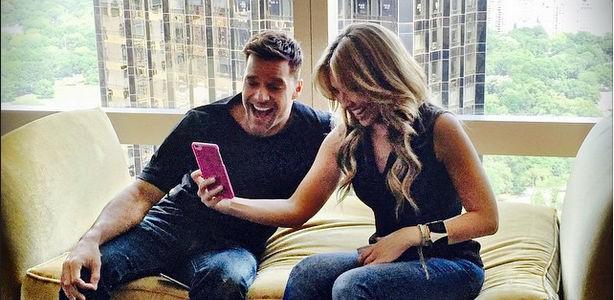 Ricky Martin y Thalia