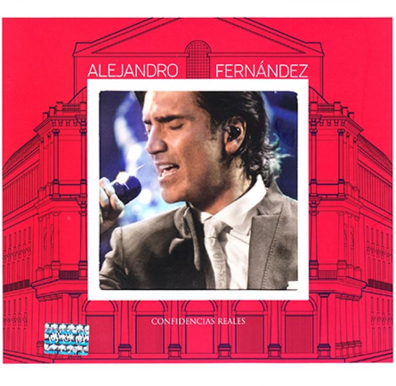 Alejandro Fernández – Confidencias Reales
