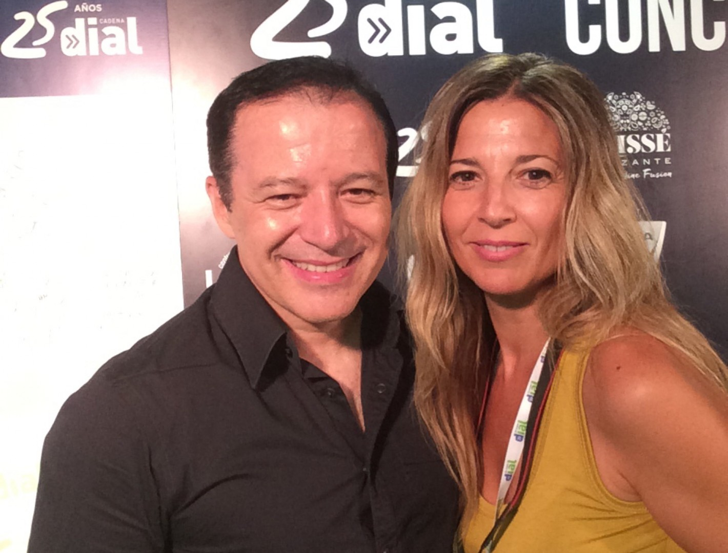 Rafa Cano y Nuria Serena