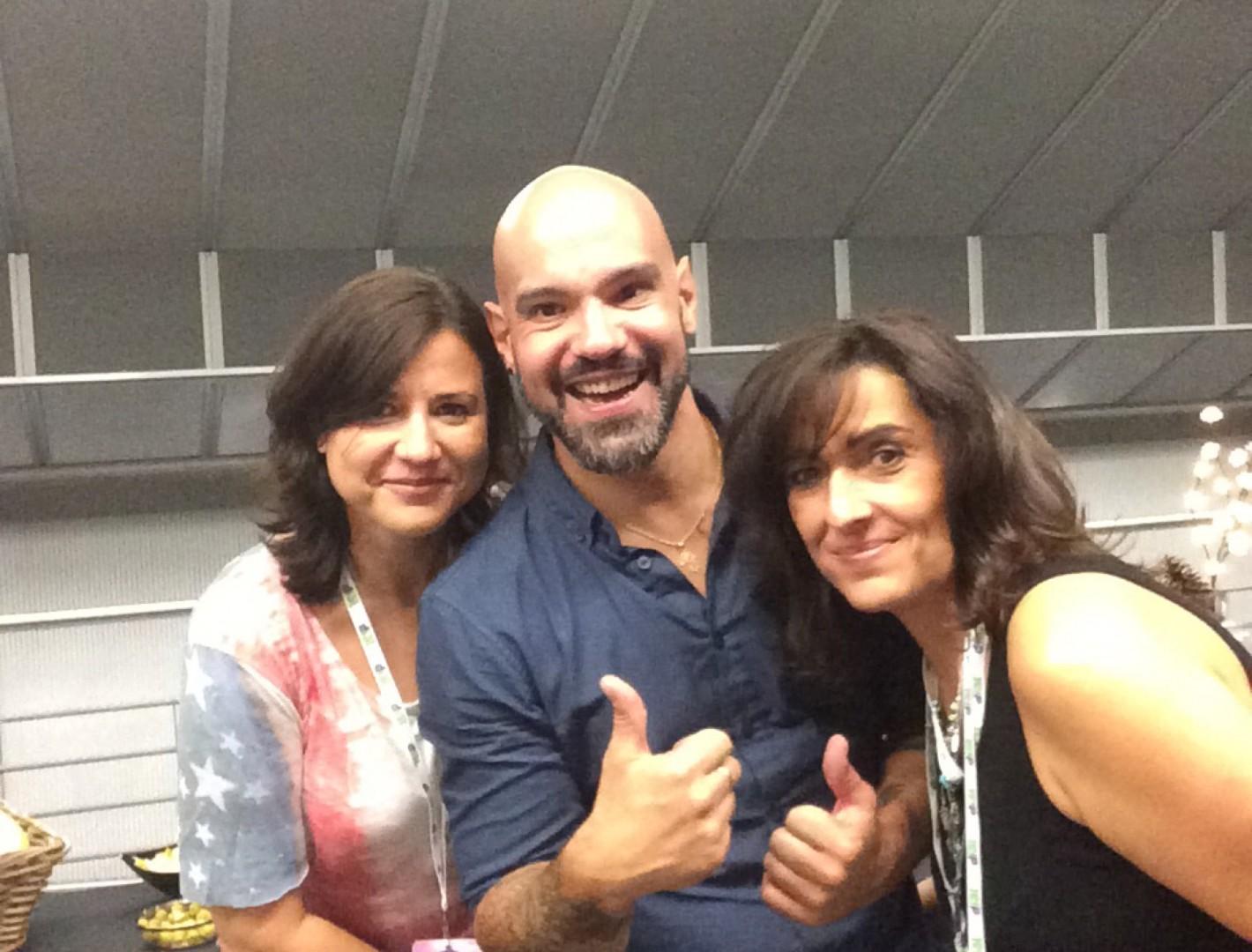 Cristina, Álvaro y Cristina
