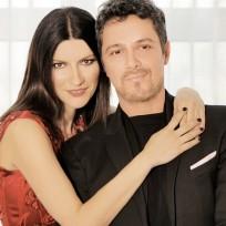 Laura Pausini y Alejandro Sanz