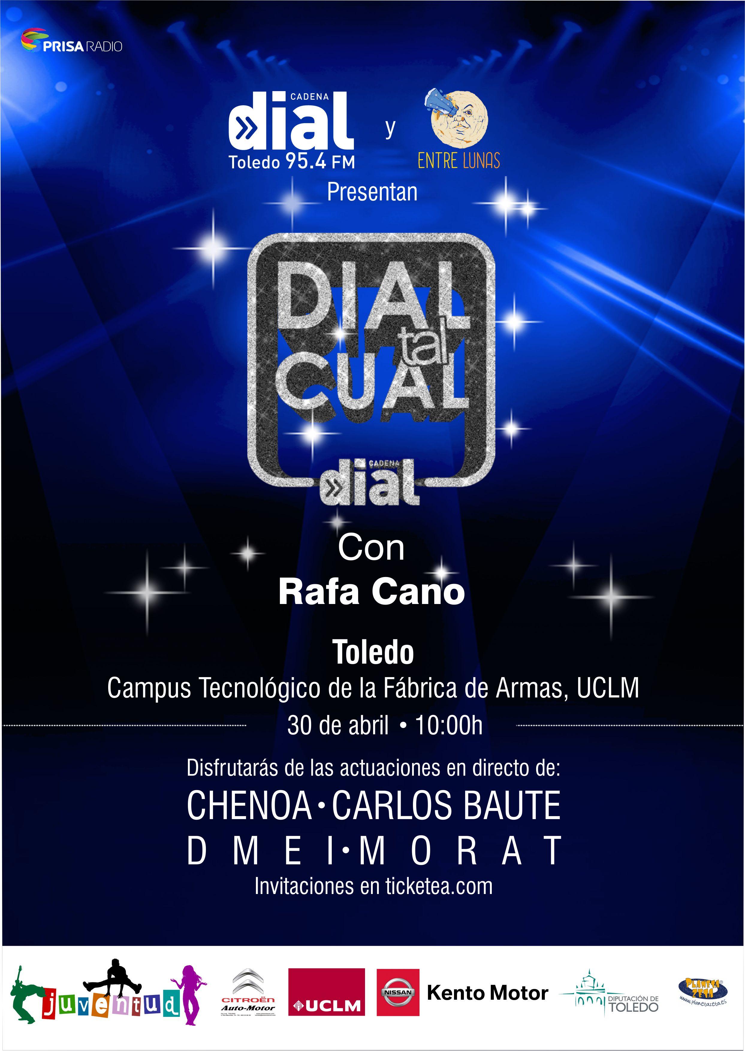 Original Prensa Dial Tal Cual Toledo