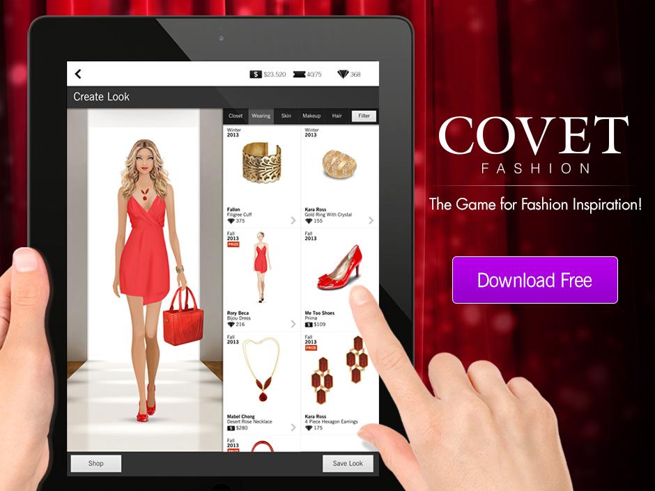 covet fashion  el juego para crear tus looks