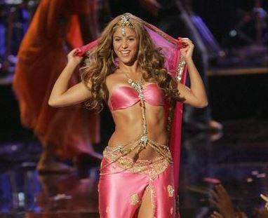 Shakira actuación
