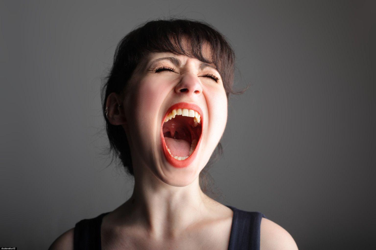 lengua mujer