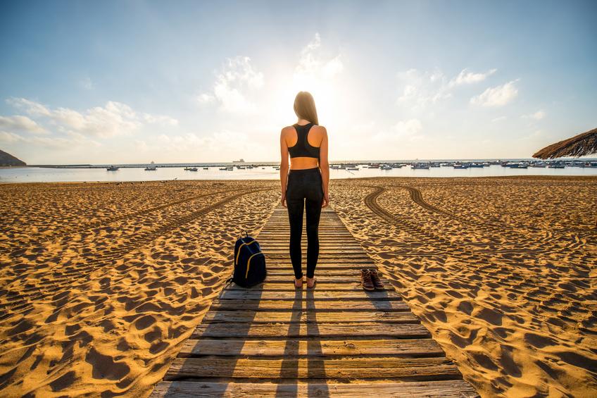 Chica playa