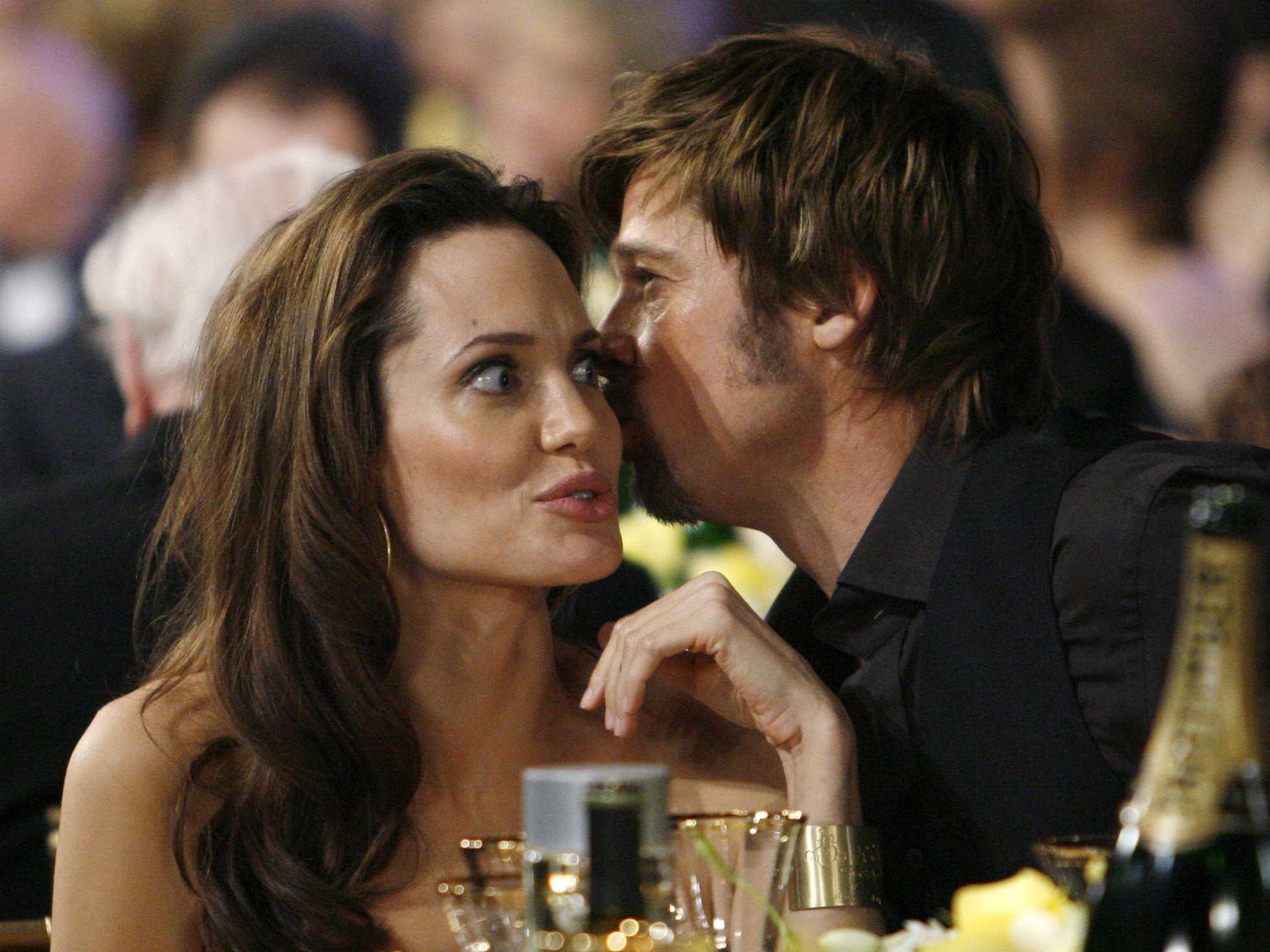 Angelina y Brad secreto