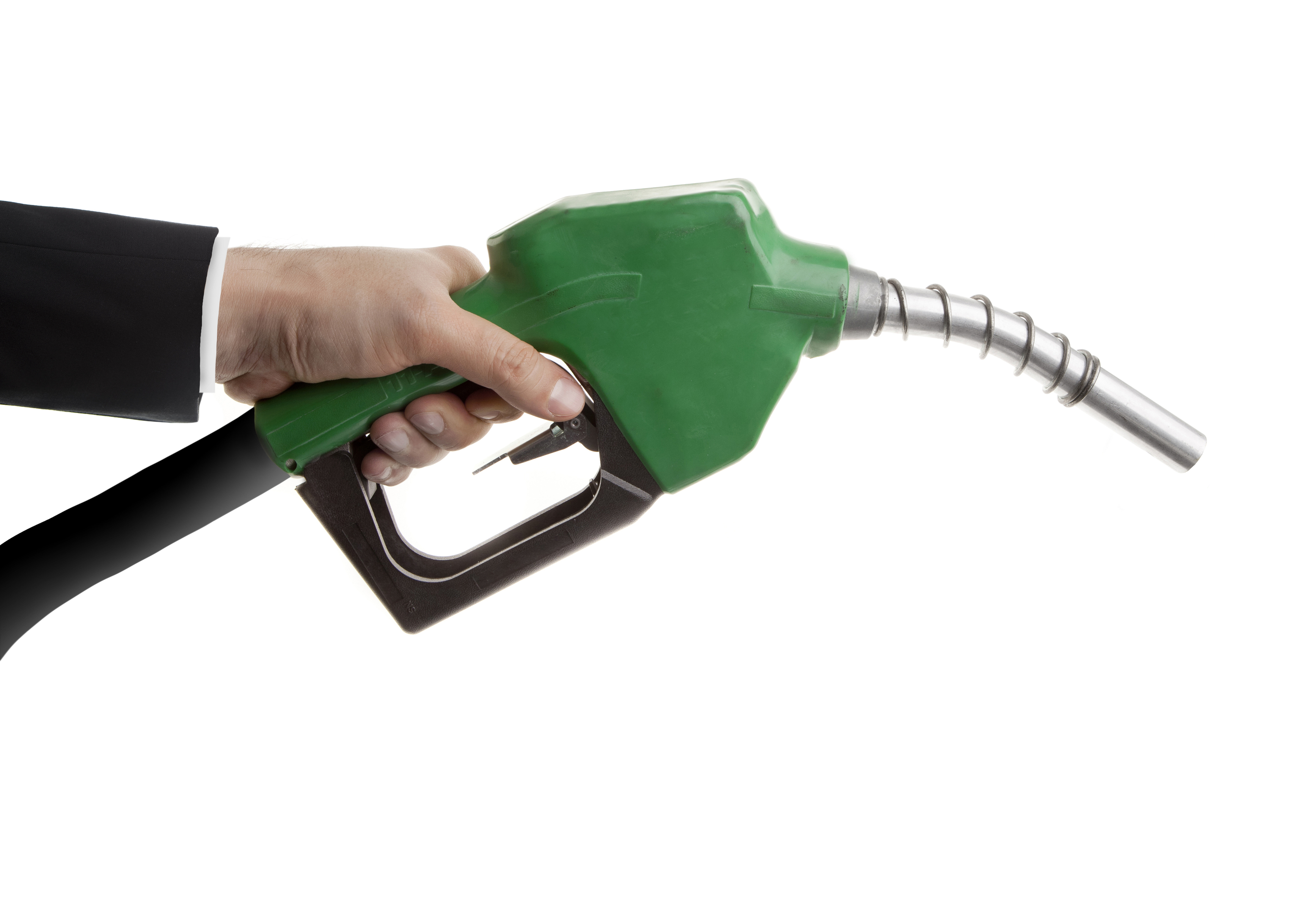 Gas Nozzle in Hand
