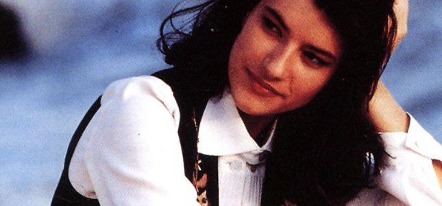 Laura Pausini de joven
