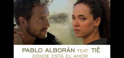 """¡Pablo Alborán publica el """"video lyric"""" de su canción junto a Tiê!"""