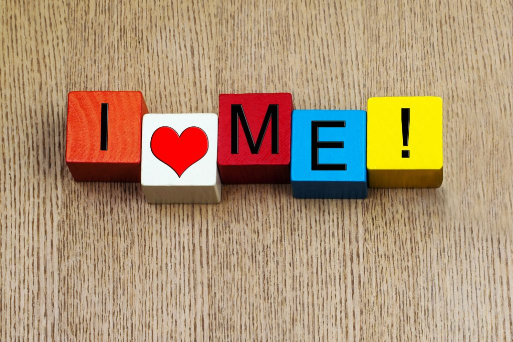 I Love Me - sign