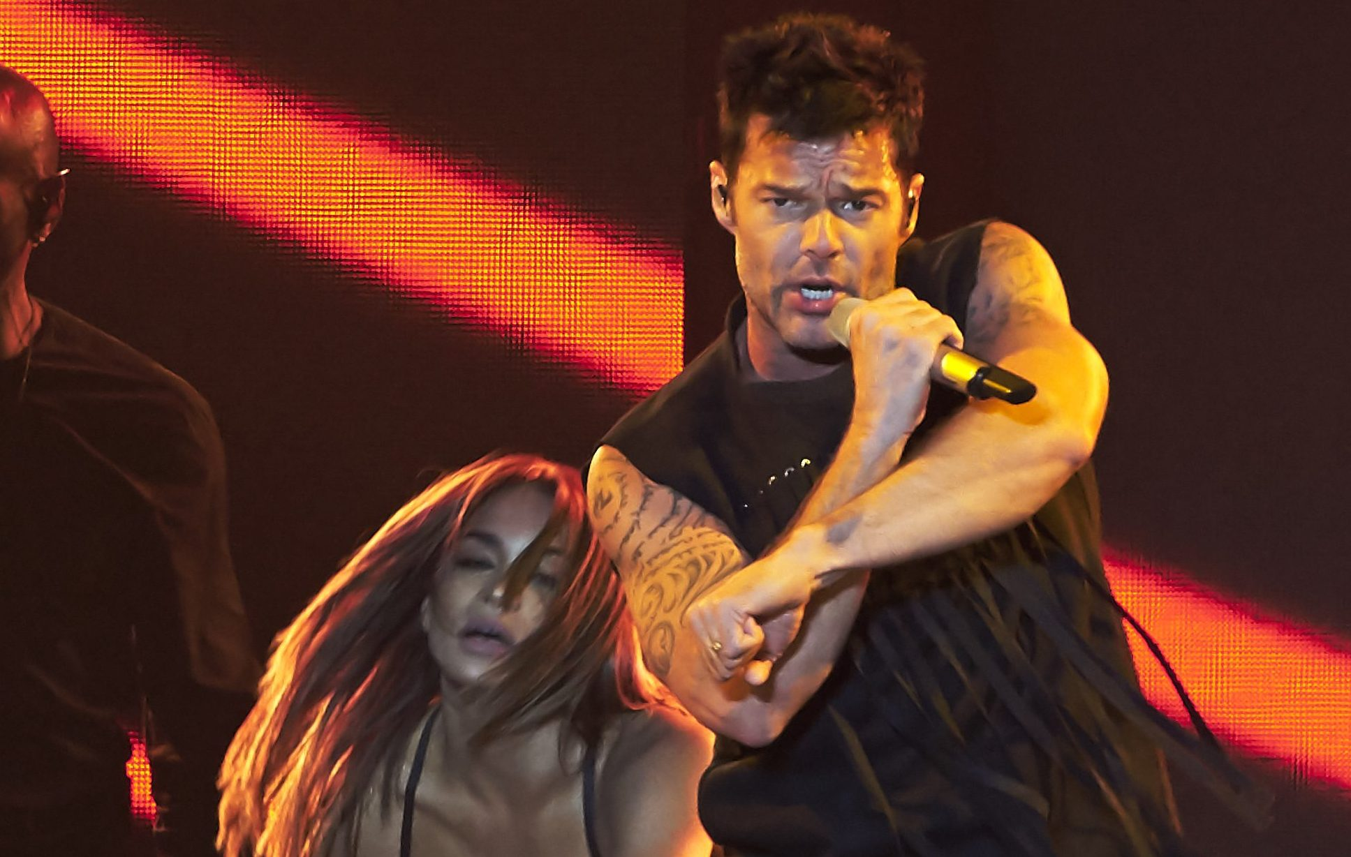 Ricky Martin Performs in Concert in Madrid