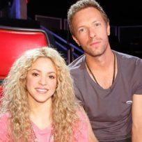 Chris Martin con Shakira