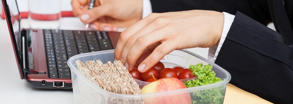 comida en el trabajo