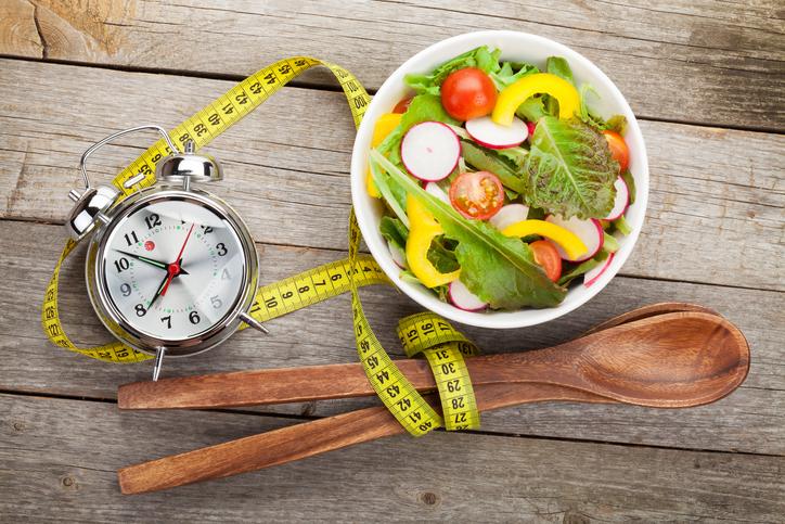 comida y tiempo