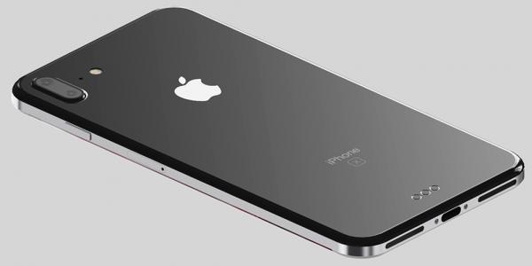 Iphone 8 filtrado por detrás