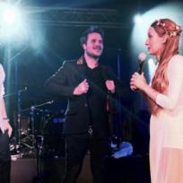 Dani Martín en la boda de Muniain