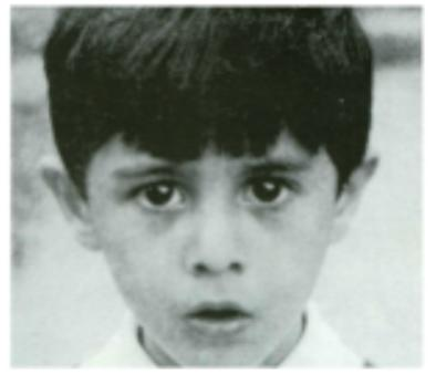 Sergio dalma de niño