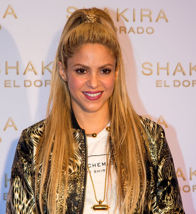 Shakira Presents New Album