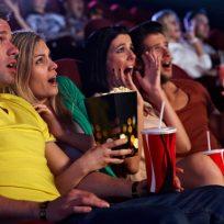 espectadores cine susto en sala