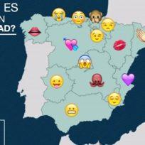 mapa emojis españa