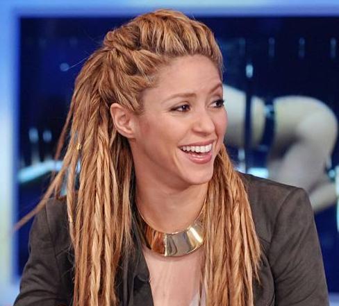 Shakira rastas