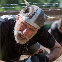 Vikingo haciendo una prueba de ejercicio