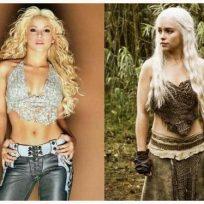 Shakira Juego de Tronos