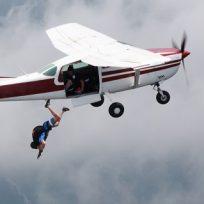 salto avión