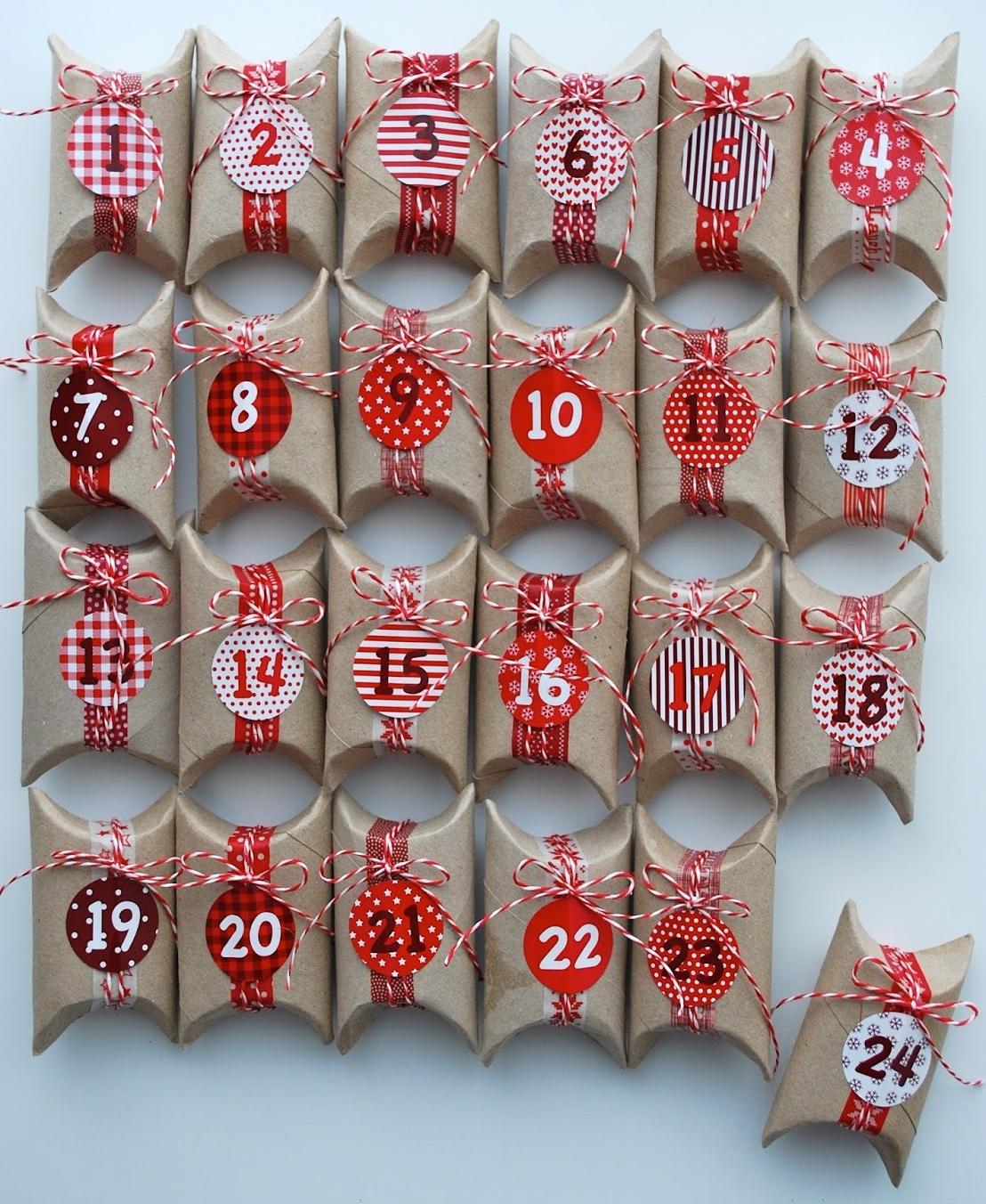 Calendario De Adviento Casero.Crea Tu Propio Calendario De Adviento Con Estas Ideas Es Muy Facil