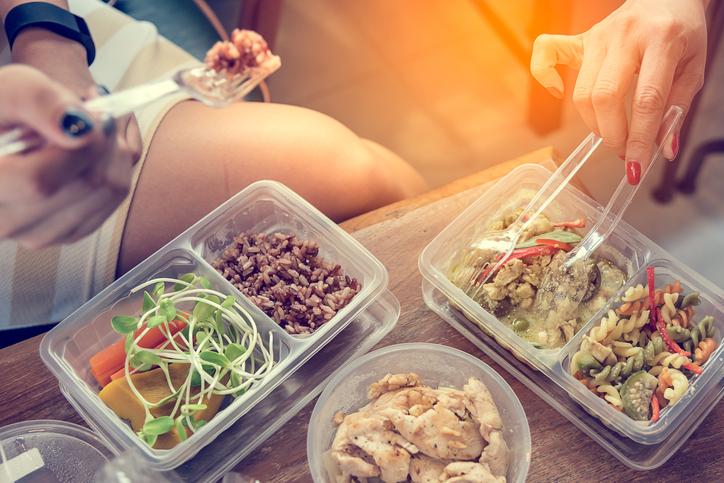 Comidas saludables para llevar en tupper