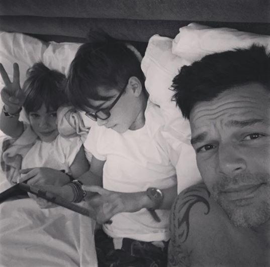 Aseguran que Ricky Martin volverá a ser padre