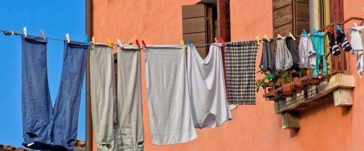 Ten cuidado porque no es bueno tender la ropa dentro de casa - Cadena Dial