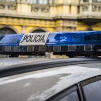 Sirena de un coche de Policía Nacional
