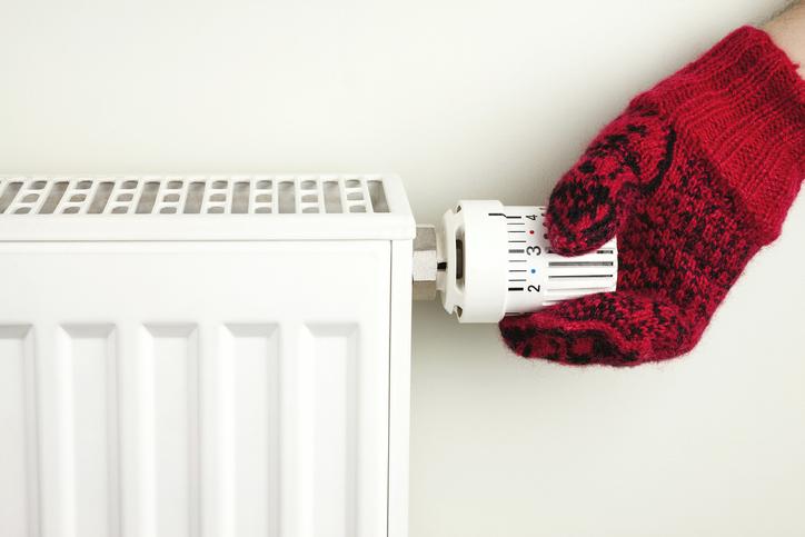 frío radiador