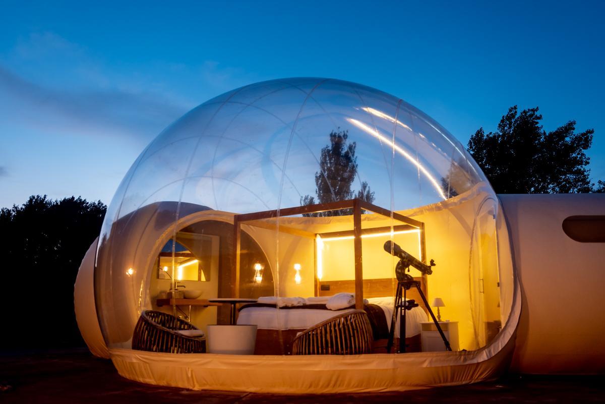 hotel burbuja regalo noche estrellas