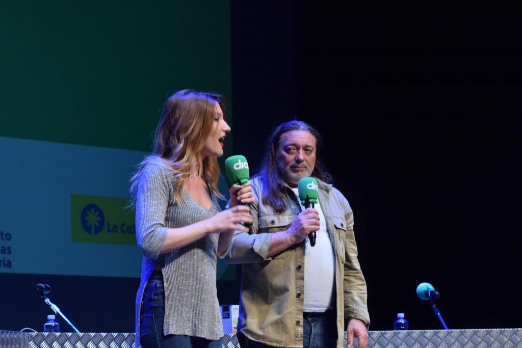 saray esteso presenta su reportaje en Gran Canaria